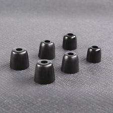 Replacement Ear Foam Tips buds for WESTONE.VIO.ULTRASONE Black S/M/L pack x 6 UK
