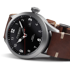 NIB Christopher Ward C8 Flyer Automatic on Strap, 44mm,Swiss Made,10+ Pic