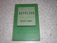 1941.pages choisies Napoléon / Aubry.envoi autographe