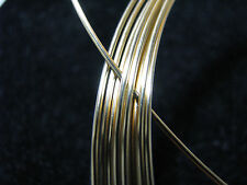 18k SOLID YELLOW GOLD Wire ROUND 20 Gauge 1 INCH ~ 100% RECYCLED FINE JEWELRY