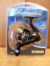 Shakespere Agility Fishing Reel AG40B Spinning Fishing Fresh Water R/L NEW