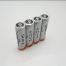 4Pcs Original New NI-MH AA HR6 2A Rechargeable Batteries 1.2V 4600mAh For SONY