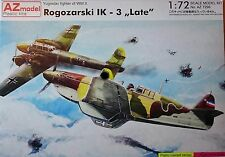 Rogozarski IK-3 'LATE' ,1:72 , AZ Model , Plastik , *NEU*