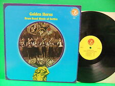 Golden Horns Brass Band Music Of Serbia 1976 LP NM/VG+ Olympic 6133 World Folk