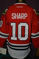 Reebok NHL Chicago Blackhawks Patrick Sharp Youth Sewn Hockey Jersey NWT L/XL