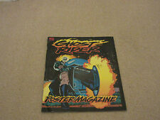 GHOST RIDER POSTER MAGAZINE- # 1-July 1992- Marvel Comics, with The Punisher-