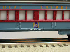 LIONEL 10TH ANNIVERSARY POLAR EXPRESS OBSERVATION 6-81101 coach car 6-25102 NEW!