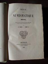 Revue de la numismatique Belge - T. V 1855