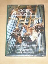 DVD RARE / MICHEL CHAPUIS / NOTES PERSONNELLES VOL 3 / IMPROVISATIONS SUR ORGUE