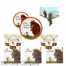 The Gruffalo Birthday Party Essential Party Kit for 12, Plates, Cups, Napkins!