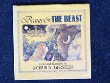 2 Mordicai Gerstein Bks Beauty & The Beast Frankenstein Moved in on Fourth Floor