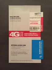 NET10 MICRO SIM CARD - UNLIMITED SERVICE ON YOUR VERIZON iPhone 4S NOW $35mo.
