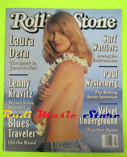 ROLLING STONE USA MAGAZINE 659/1993 Laura Dern Surf Warrior P. Westerberg No cd