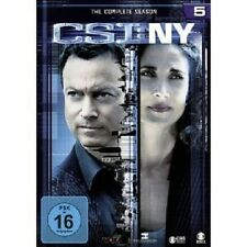 "CSI NY ""SEASON 5"" 6 DVD TV SERIE NEU"