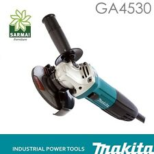 SMERIGLIATRICE ANG. FLEX MAKITA GA4530 720W 115mm + IMPUGNATURA LATERALE+ DISCO