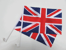 UNION JACK / UK CAR WINDOW FLAG - 2 PACK NEW