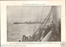 U-Boot Germany Cadiz Spain Plane Battleship Naval warfare WWI 14 18 PLANCHE 1929