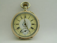 orologio da tasca in argento funzionante  silver pocket watch working