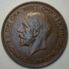 1934 UK / Great Britain One Penny Extra Fine