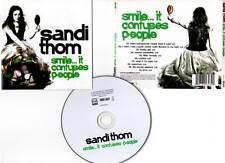 """SANDI THOM """"Smile... It Confuses People"""" (CD) 2006"""