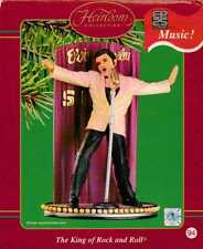 Elvis Presley The King of Rock and Roll Ornament Carlton Cards NIB 2002 Musical