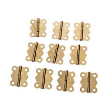 10Pcs Mini Iron Butterfly Hinges Cabinet Drawer Door Butt Hinge MH
