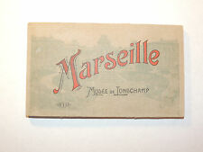 Post Card Album Marseille Musee De Tongchamp Unused 6x3.5 (11452)