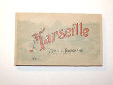 Post Card Album Marseille Musee De Tongchamp Unused 6x3.5 (11452)