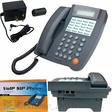 VOIP SIP IP Phone 3 Way Calling Conference ADSL DSL Ethernet LAN Telephone Set