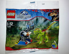 • LEGO 30320 JURASSIC WORLD GALLIMIMUS TRAP LTD EDITION POLY BAG *NEW & SEALED*