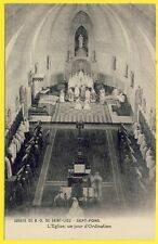 cpa 03 - DIOU (Allier) ABBAYE de SEPT FONS (Notre Dame de Saint Lieu) ORDINATION