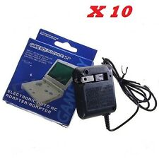 10x WHOLESALE LOT of Wall A/C Chargers Adapters for Nintendo GBA SP DS NDS 10PCS