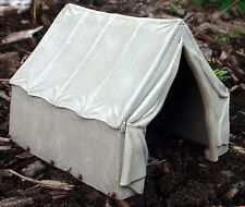 Canvas Tent Miniature Highly Detailed 1/24 Scale G Scale Diorama Accessory Item