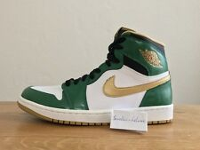 NIKE Air Jordan 1 Retro High OG Boston Celtics 9.5 8.5 frammento bred Royal Blue