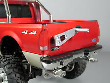 New Aluminum Rear Spare Tire Rack for Tamiya RC 1/10 Ford F350 High-Lift Truck