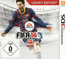 FIFA 14 -- Legacy Edition (Nintendo 3DS, 2013, Keep Case)