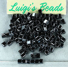 Metallic Hematite #81-TOHO Japanese Cube Glass Seed Beads 3mm