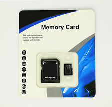 16 GB Micro SD TF Flash Memory Card Free Adapter MicroSD Micro SDHC Class 10