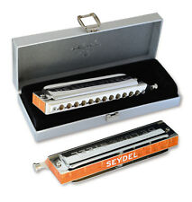 NEW STEEL REEDS! Seydel Chromatic Deluxe Steel Harmonica in G 100% GERMAN MADE