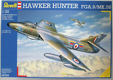 1:32 Hawker Hunter FGA.9/MK.58, Revell 04703 Royal Air Force NATO Jet Düsenjäger
