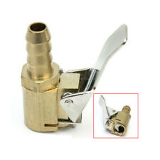 1/4'' Portbale Car Tire Tyre Inflator Valve Adapter Brass Air Chuck 6mm