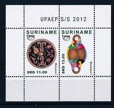 [SU1926] Suriname Surinam 2012 UPAEP Indian Handcrafy Souv. Sheet MNH