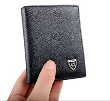 Hot Stylish Men's Leather Thin Wallet Bifold Purse  ID Card Holder Mini Billfold