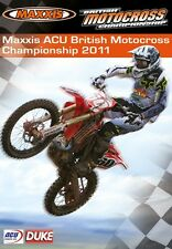 Maxxis ACU British Motocross Championship - Official review 2011 (New DVD) MX
