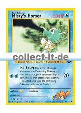 Pokemon Gym Challenge - Unlimitiert 87/132 - Misty's Horsea  Englisch