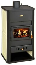 Wood Burning Stove Boiler Fireplace Multi Fuel Prity S3 W13 DIFFERENT COLORS