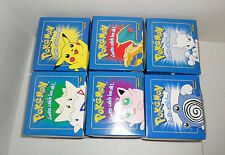 1999 Burger King Pokemon 23K Gold Plated Cards Set of 6 UNOPENED Blue Box Sealed