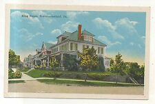 House on King Street NORTHUMBERLAND PA Vintage Pennsylvania NOS Postcard