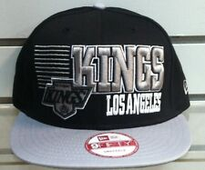 LOS ANGELES KINGS SNAPBACK CAP BORDERLINE NEW ERA GREEN UNDERVISOR RETRO VINTAGE