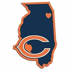 NFL Chicago Bears Home State Auto Car Window Vinyl Decal Sticker